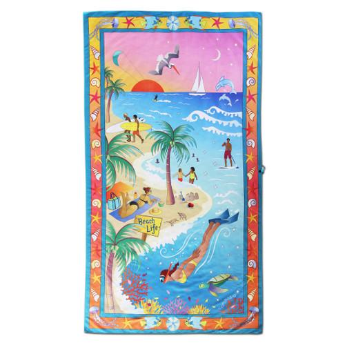 Catstudio Beach Life Beach & Travel Towel