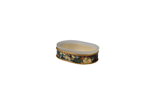 Mike & Ally Bouquet Oval Soap Dish