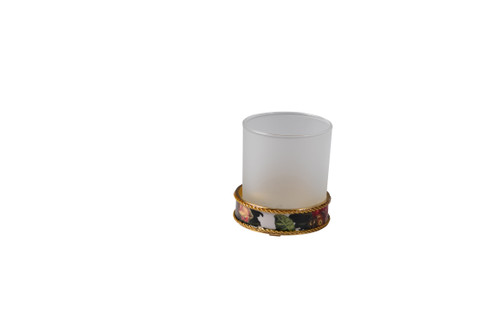 Mike & Ally Bouquet Round Tumbler