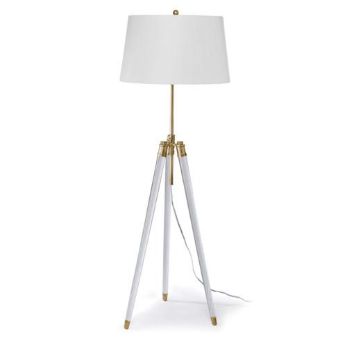 Regina Andrew Brigitte Brass Floor Lamp