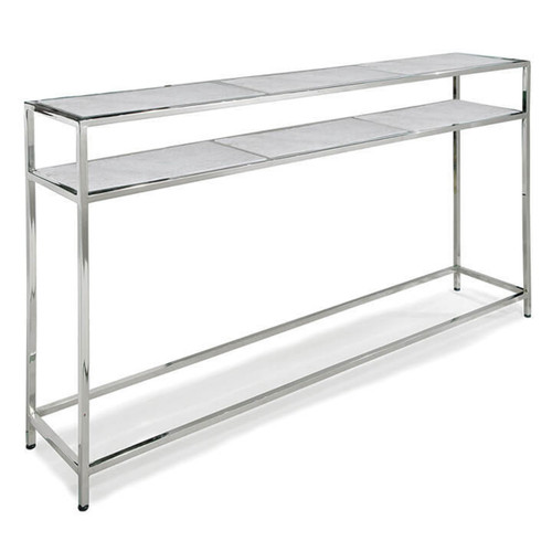 Regina Andrew Polished Nickel Echelon Console Table