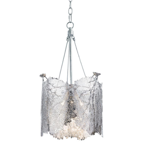 Regina Andrew Large Nickel Sea Fan Chandelier