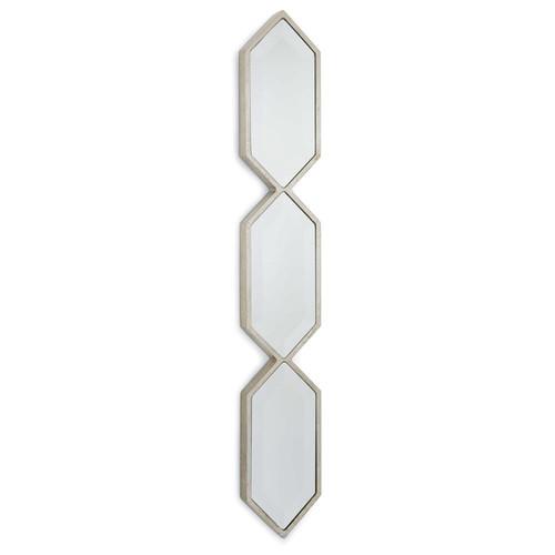 Regina Andrew Silver Triple Diamond Wall Panel