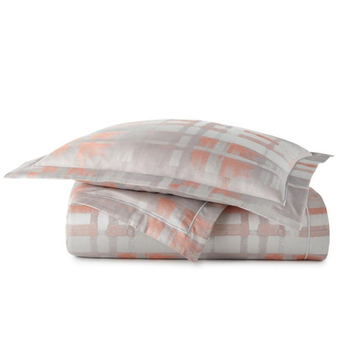 Peacock Alley Coral Enzo Duvet Cover