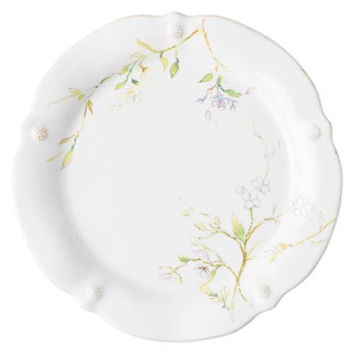 Juliska Berry & Thread Floral Sketch Jasmine Dinner Plate