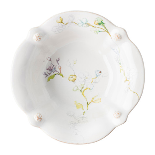Juliska Berry & Thread Floral Sketch Jasmine Cereal/Ice Cream Bowl