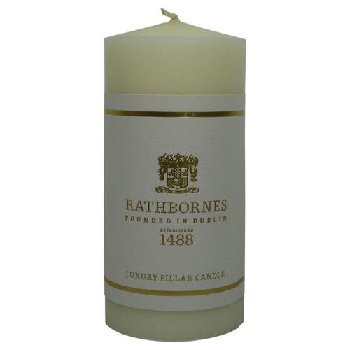 Rathbornes 6 x 3 Beeswax Pillar Candle