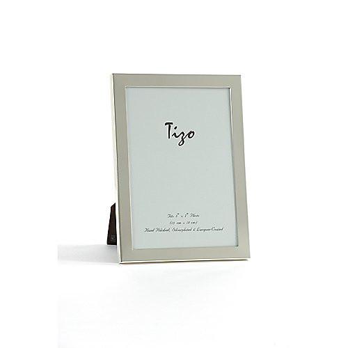 Tizo Simple Silver Border Double Frames