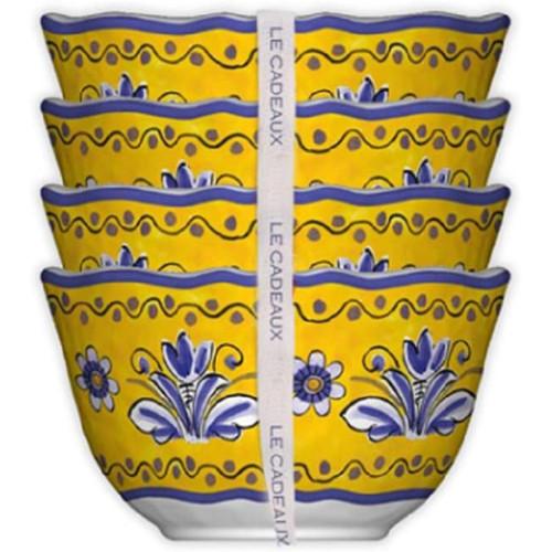 Le Cadeaux Benidorm Desert Bowls - Set of 4