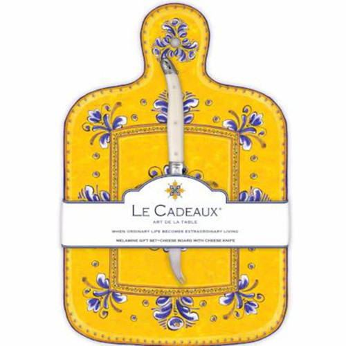 Le Cadeaux Benidorm Cheese Board With Knife