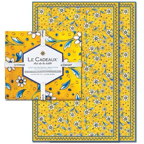 Le Cadeaux Benidorm Gift Tea Towel - Set of 2
