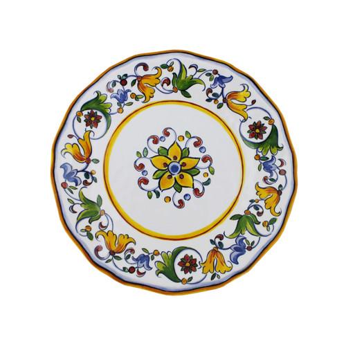"""Le Cadeaux Capri 9"""" Salad Plate"""