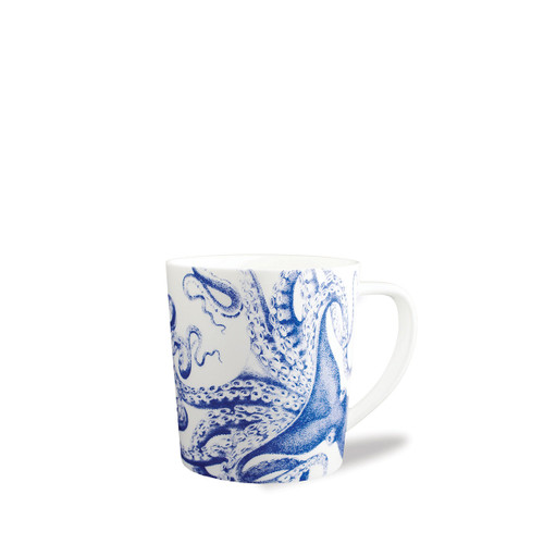 Caskata Blue Lucy Blue 14oz Wide Mug