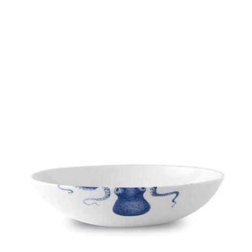 """Caskata Blue Lucy Blue 9"""" Coupe Soup/Pasta Bowl"""