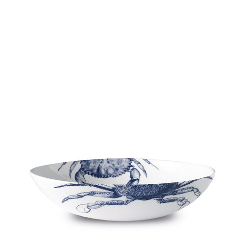 """Caskata Crabs Blue 9"""" Coupe Soup/Pasta Bowl"""