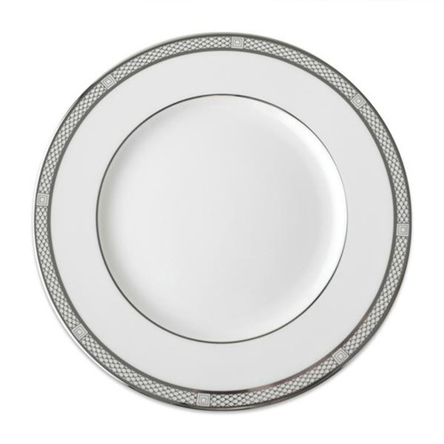 Caskata Hawthorne Ice Platinum Rimmed Simple Design Dinner