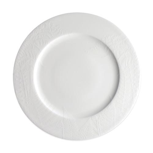 """Caskata Spring White 10.75"""" Rimmed Dinner"""