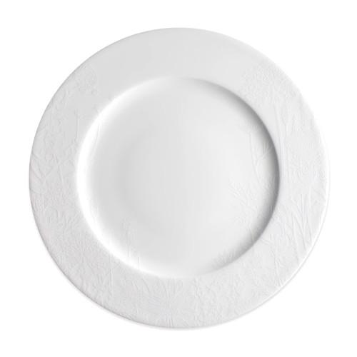 """Caskata Summer White 10.75"""" Rimmed Dinner"""
