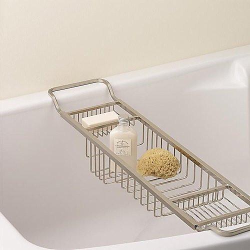 Valsan Essentials Adjustable Bath Tub Rack