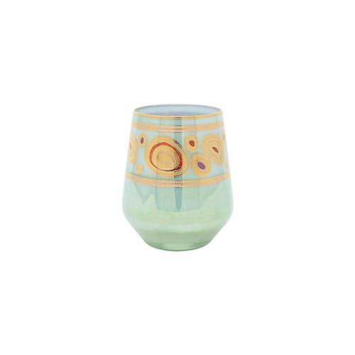 Vietri Regalia Stemless Wine Glass