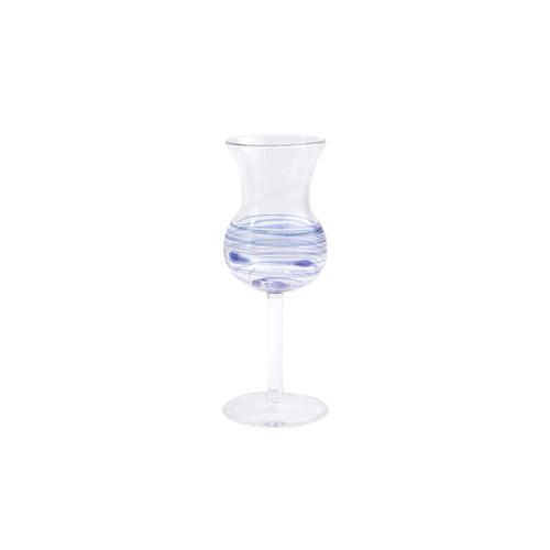 Vietri Swirl Limoncello Glass