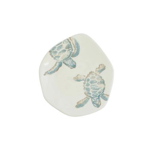 Vietri Tartaruga Turtle w/ Body Salad Plate