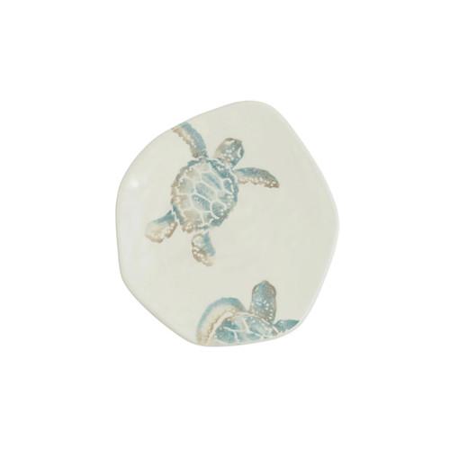 Vietri Tartaruga Turtle w/ Head Salad Plate