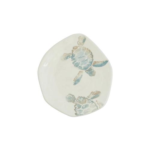Vietri Tartaruga Turtle w/ Tail Salad Plate