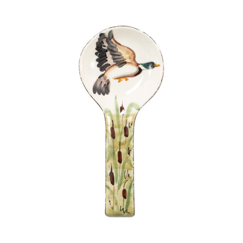 Vietri Wildlife Mallard Spoon Rest