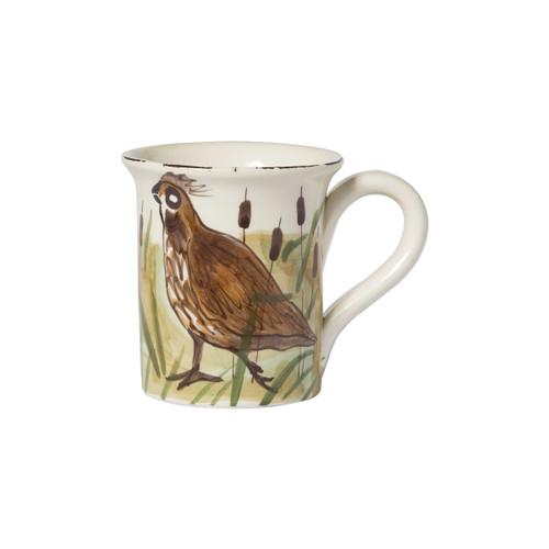 Vietri Wildlife Quail Mug