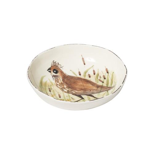 Vietri Wildlife Quail Pasta Bowl