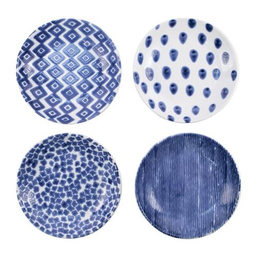 Viva by Vietri Santorini Assorted Pasta Bowls - Set of 4