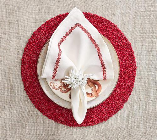 Kim Seybert Amalfi Napkin Ring - Set of 4
