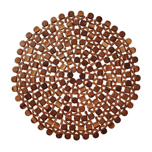 Kim Seybert Bamboo Round Placemat