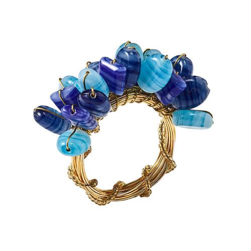 Kim Seybert Poppy Napkin Ring