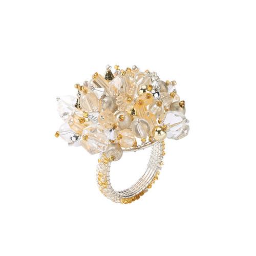 Kim Seybert Crystal Dome Napkin Ring
