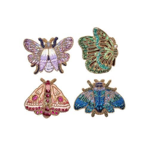 Kim Seybert Pheromone Coaster - Set of 4