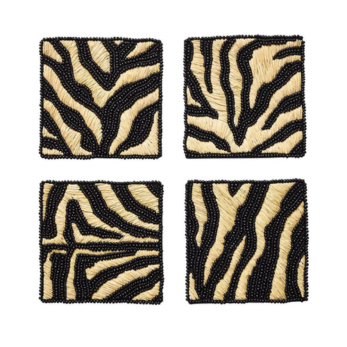 Kim Seybert Serengeti Coaster - Set of 4