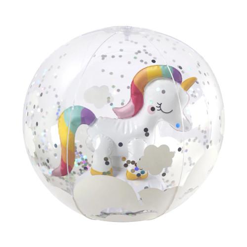 Sunny Life Unicorn 3D Inflatable Beach Ball
