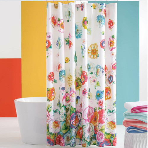 Pine Cone Hill Flower Shower Shower Curtain