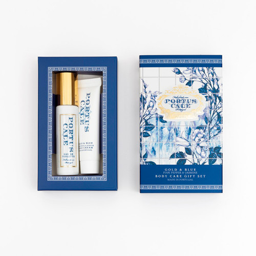 Portus Cale Gold & Blue Body Care Gift St