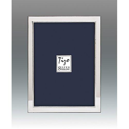 Tizo Narrow Bead Sterling Square Frames