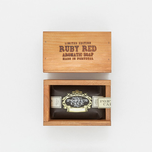 Portus Cale Ruby Red Soap Gift Box - 150g