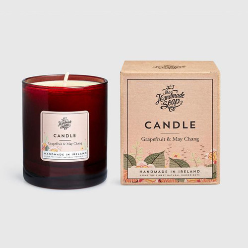 The Handmade Soap Company Grapefruit & May Chang Candle