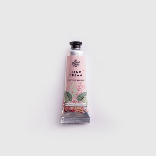 The Handmade Soap Company Grapefruit & May Chang Hand Cream Tube