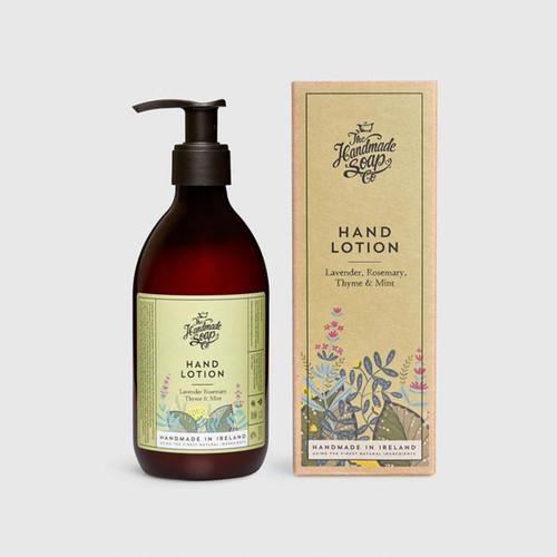 The Handmade Soap Company Lavender, Rosemary, Thyme & Mint Hand Lotion
