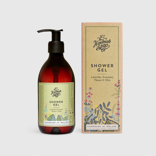 The Handmade Soap Company Lavender, Rosemary, Thyme & Mint Shower Gel