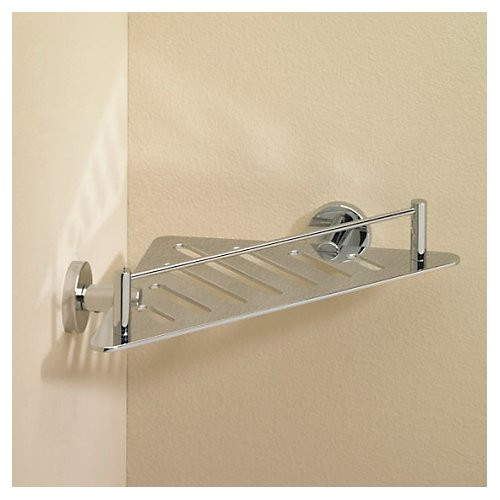 Valsan Essentials Triangle Shower Shelf