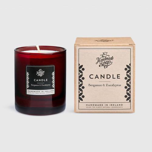 The Handmade Soap Company Bergamot & Eucalyptus Candle