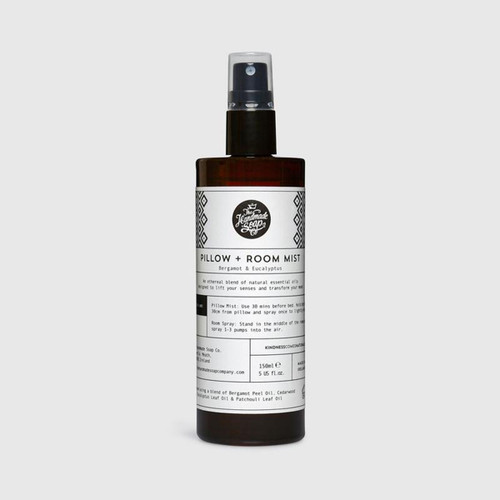 The Handmade Soap Company Bergamot & Eucalyptus Room + Pilllow Mist